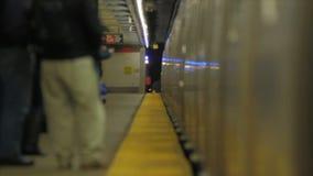 Metro de Nueva York almacen de video