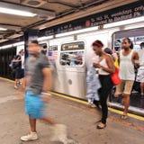 Metro de Nueva York Imágenes de archivo libres de regalías