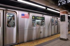Metro de Nueva York Foto de archivo libre de regalías