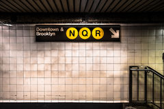 Metro de NYC Imagem de Stock Royalty Free