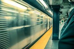 Metro de NYC Imagen de archivo