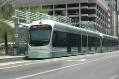 Metro de Post van het Spoor, Phoenix, AZ Royalty-vrije Stock Foto's