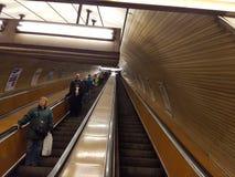 Metro de Prag imagem de stock