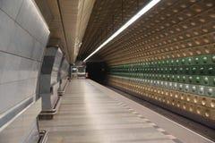 Metro de Praga. Fotografia de Stock Royalty Free