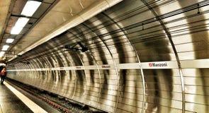 Metro de Roma Foto de archivo libre de regalías