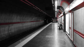 Metro de Roma Fotografia de Stock