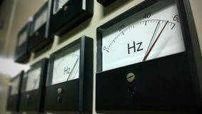 Metro della scala di frequenza immagine stock