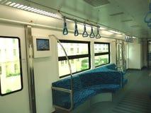 Metro dentro do assento Foto de Stock