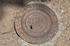Metro di Austin Texas Water fotografia stock libera da diritti