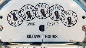 Metro di elettricità (al rallentatore) archivi video