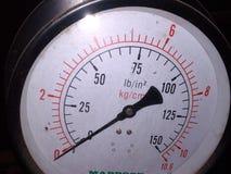Metro di pressione fotografie stock libere da diritti