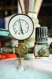 Metro di pressione Fotografia Stock