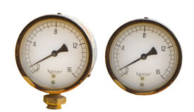 Metro di pressione Immagine Stock