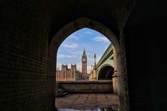 Metro do formulário de Londres Fotos de Stock Royalty Free