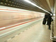 Metro do metro de Praga Imagem de Stock Royalty Free
