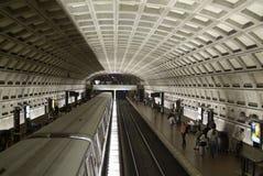 Metro do Washington DC Imagens de Stock