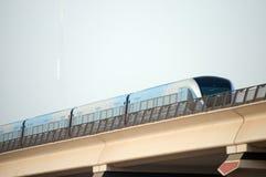 Metro Dubai. Metro in Dubai during day time Royalty Free Stock Photography