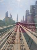 Metro in Dubai it so good royalty free stock photo