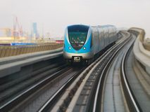 Metro in Dubai, United Arab Emirates Stock Photography