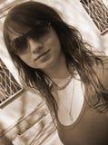 metro dziewczyny Zdjęcie Stock