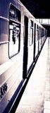 Metro e trem Fotos de Stock Royalty Free