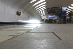 Metro en dvizheniia Foto de archivo