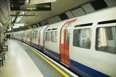 Metro en Londres Imagen de archivo libre de regalías