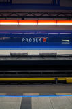 Metro en Praga fotografía de archivo libre de regalías
