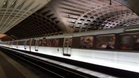 Metro en Washington DC Imagenes de archivo