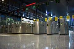 Metro Entrance Royalty Free Stock Photos
