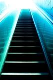 Metro escalator Royalty Free Stock Photos