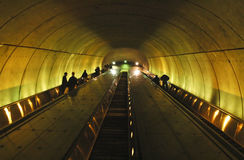 Metro Escalator Stock Images