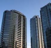 Metro Flatgebouwen met koopflats 2 Royalty-vrije Stock Afbeelding