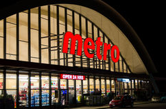 Metro Grocery Store Royalty Free Stock Image