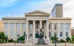 Metro Hall Historic Entrance de Louisville fotos de archivo libres de regalías