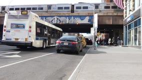Metro-in het noorden stock videobeelden