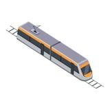 Metro Hoge snelheids Interlokale Forens royalty-vrije illustratie
