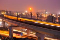 Metro indiano Fotos de Stock