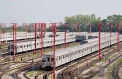 metro jard Obrazy Stock