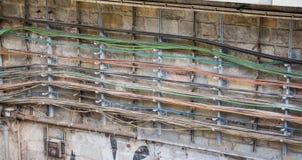 Metro kabels royalty-vrije stock afbeeldingen