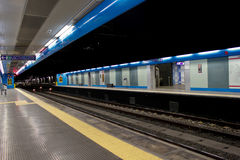Metro kade Stock Afbeelding