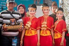 Metro Lampung Dancer. Royalty Free Stock Images