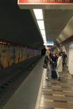 Metro line 4 - Budapest Stock Photo