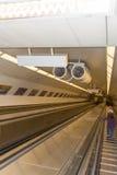 Metro line 4 - Budapest Stock Image