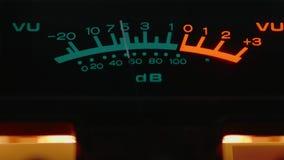 Metro llano audio análogo almacen de video
