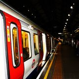 Metro - Londyn Obrazy Royalty Free
