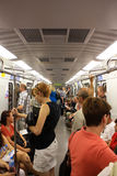 metro ludzie Fotografia Royalty Free