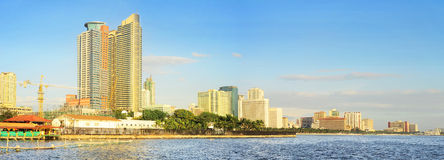 Metro Manila Bay Royalty Free Stock Photography