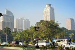 Metro Manila in the morning Stock Photography