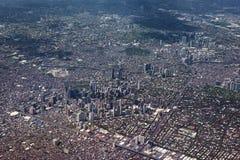 Metro Manila, Philippines. Metro Manila Aerial View. Philippines Royalty Free Stock Images